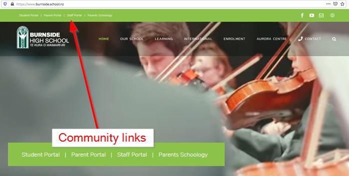 Burnside High School Website